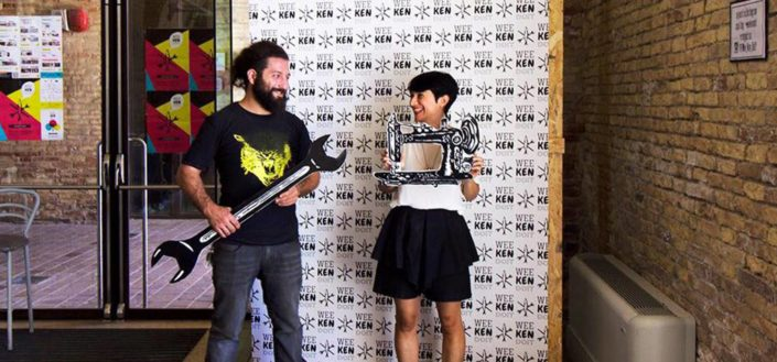 Weekendoit | Rino e Gaia al Photobooth