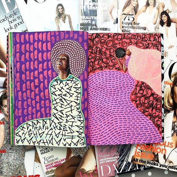 Naomi Vona Collage Art